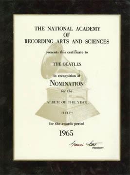 Beatles Awards - May 2002
