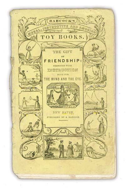 1840s The Gift Of Friendship Booklet With Baseball Scene