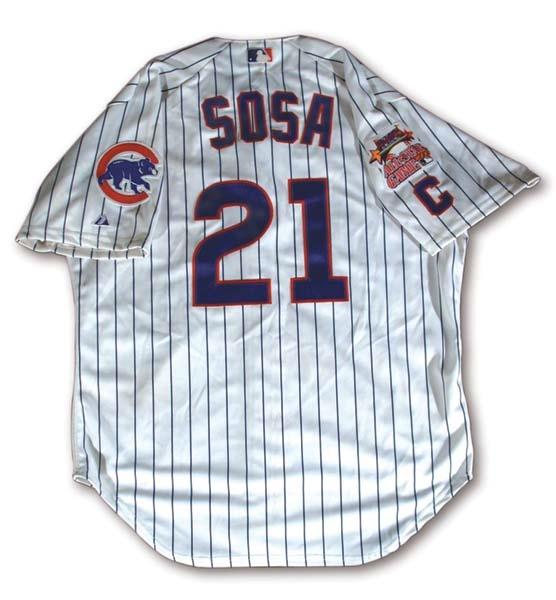 Sammy Sosa - auction