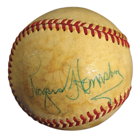 Single Signed Baseballs - December 2002