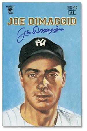 Joe DiMaggio - December 2002
