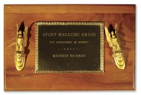 Maurice Richard - December 2002