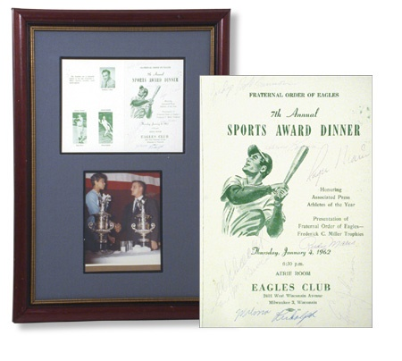 Mantle and Maris - auction