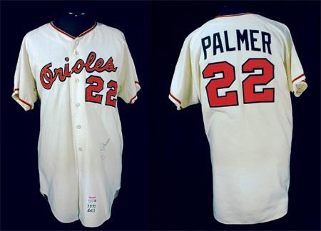 d4d1160c9c0 1971 Jim Palmer Autographed Game Worn Jersey. Baltimore Orioles - auction