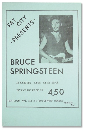 Bruce Springsteen - auction