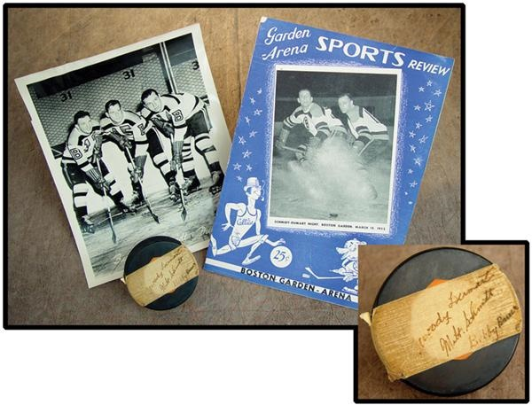 Hockey Memorabilia - May 2003