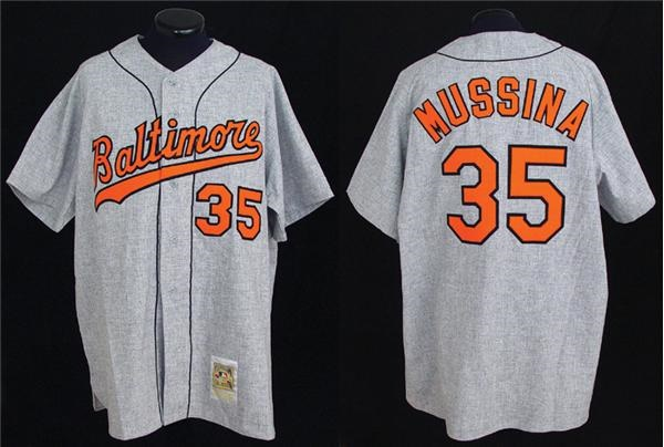 1058eb880cc 2000 Mike Mussina Game Worn Turn Back the Clock Jersey. Baltimore Orioles -  auction