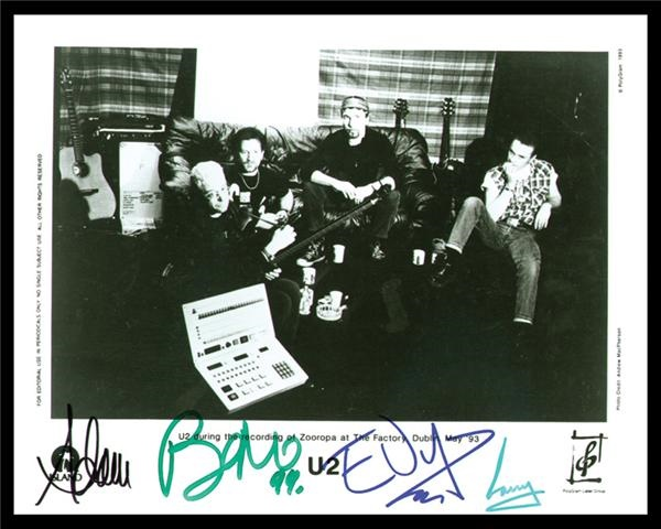 Music Autographs - May 2003