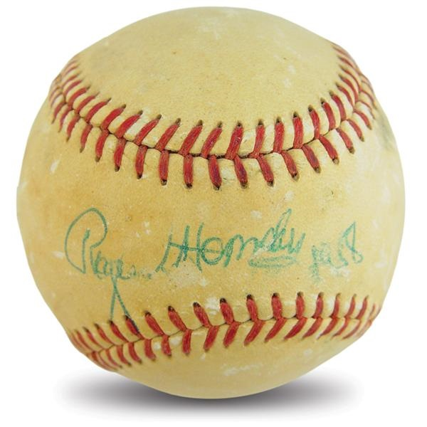 Single Signed Baseballs - May 2003