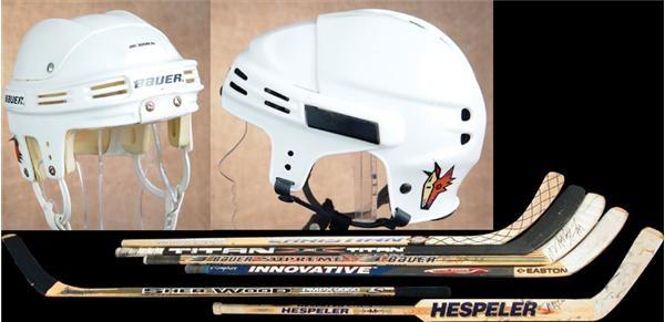 Hockey Sticks - auction