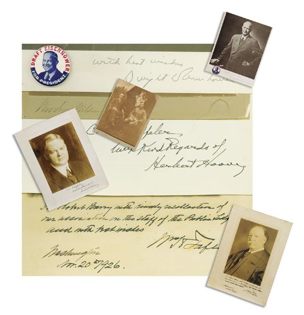 Americana Autographs - December 2003