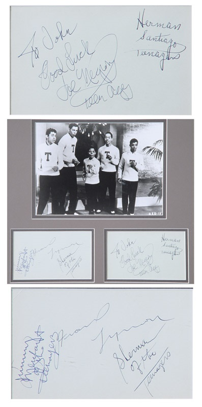 Rock Autographs - December 2003