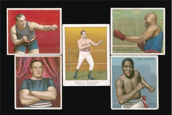 Boxing Cards - December 2003