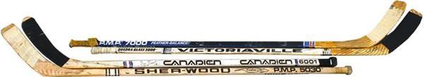 Hockey Sticks - June 2004