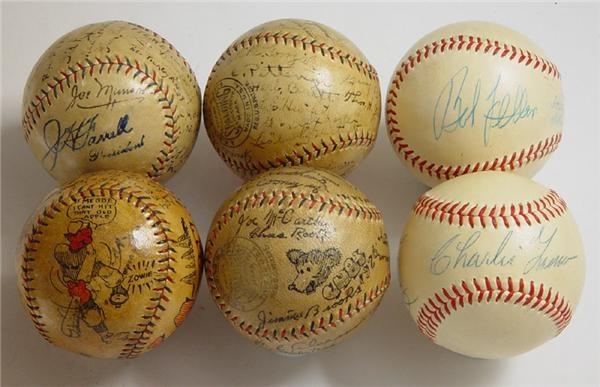 Autographed Baseballs - June 2004