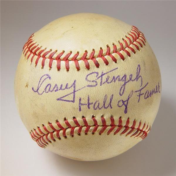 Single Signed Baseballs - June 2004