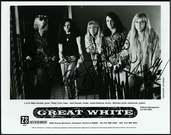Rock Autographs - June 2004