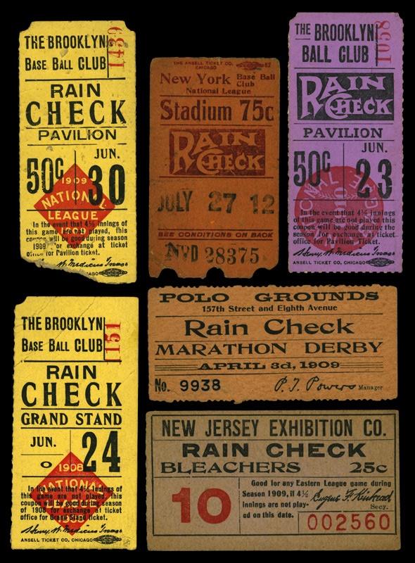 Tickets, Publications & Pins - June 2004
