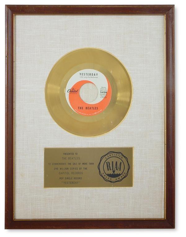 Beatles Awards - auction