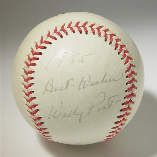 Single Signed Baseballs - Internet Only (October 2004)