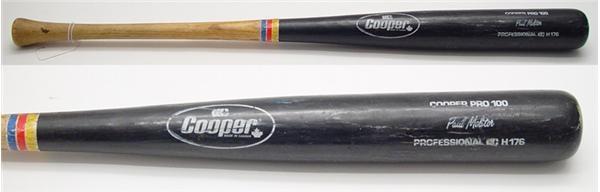 Baseball Equipment - Internet Only (October 2004)