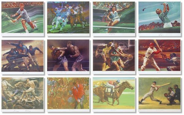 Sports Fine Art - Internet Only (October 2004)