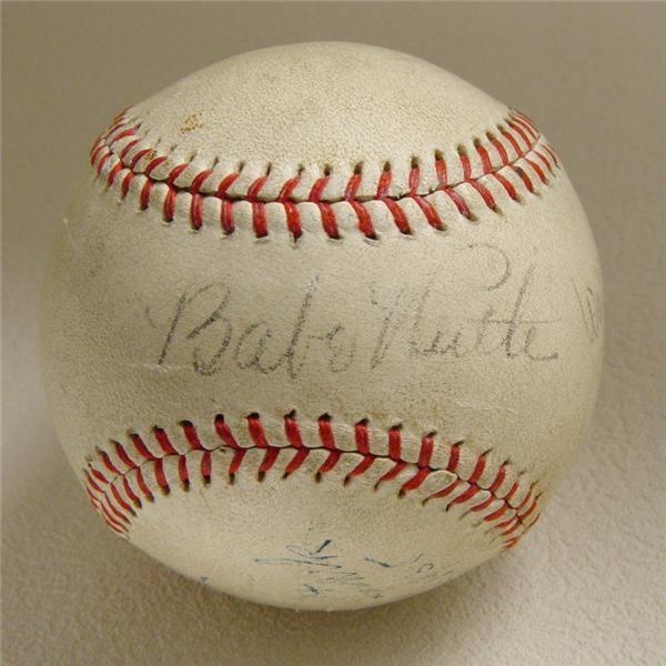 Babe Ruth - December 2004