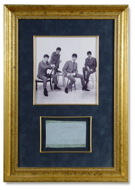 Beatles Autographs - December 2004