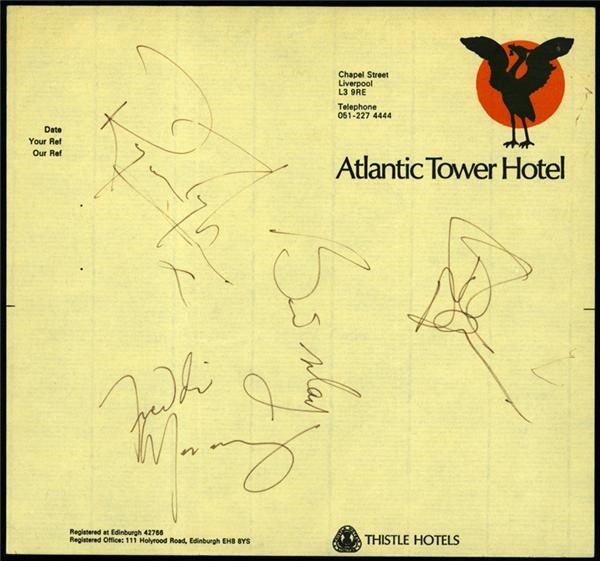 Rock Autographs - December 2004