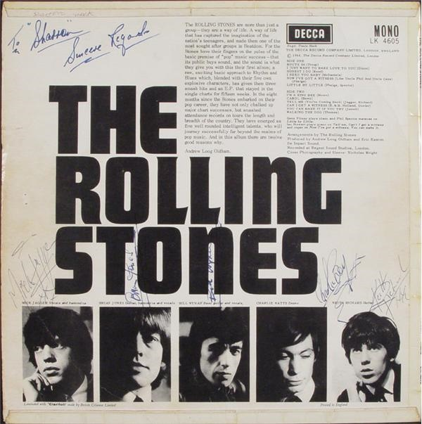 Rolling Stones - auction