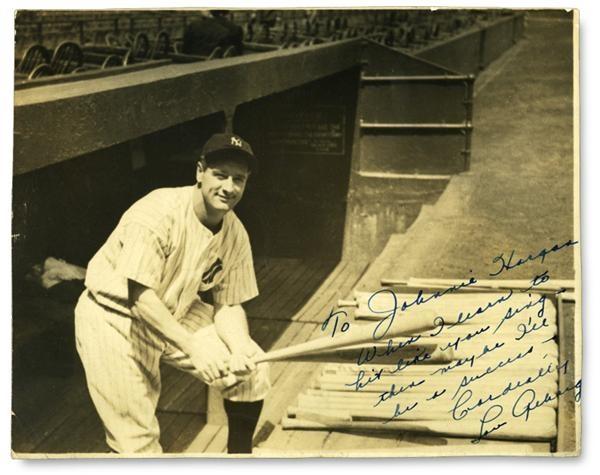 Lou Gehrig - December 2004