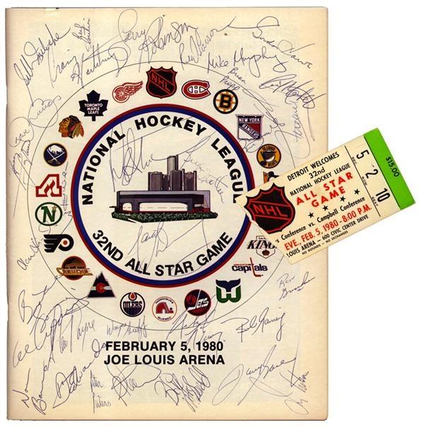 Hockey Memorabilia - December 2004