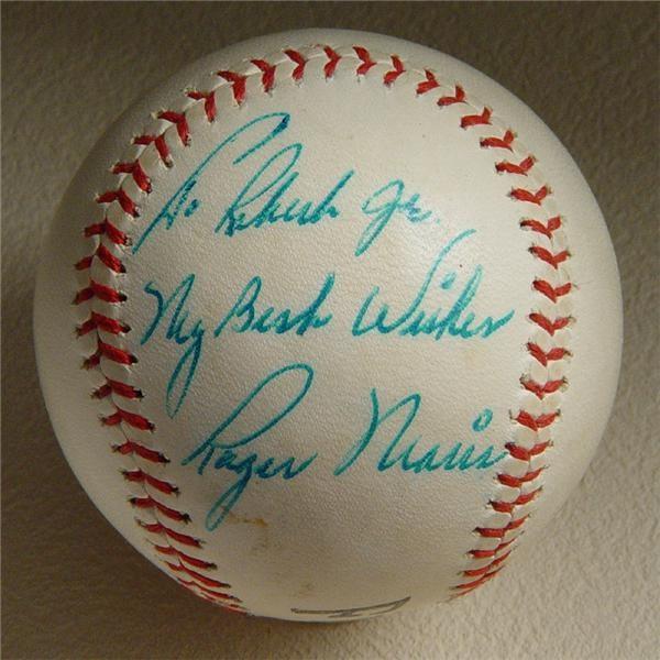 Single Signed Baseballs - December 2004