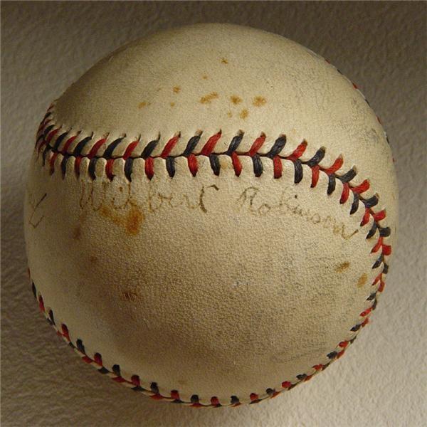 Autographed Baseballs - December 2004