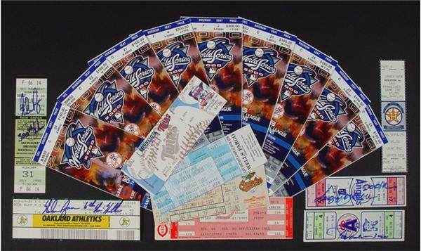 Baseball Publications and Tickets - December 2004