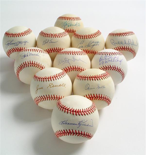 Single Signed Baseballs - June 2005