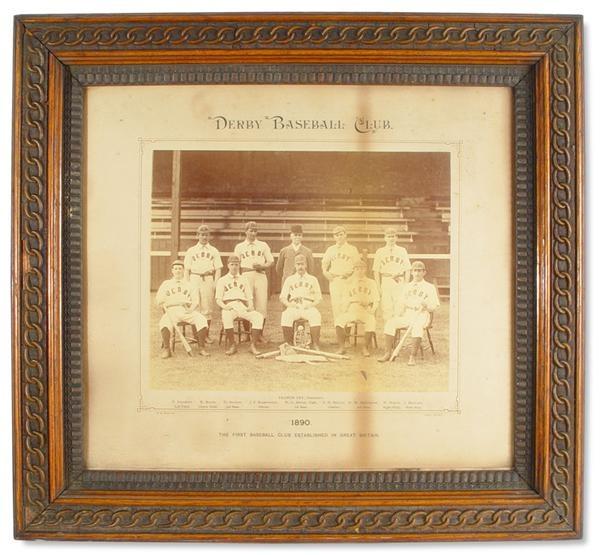 19th Century Baseball - auction