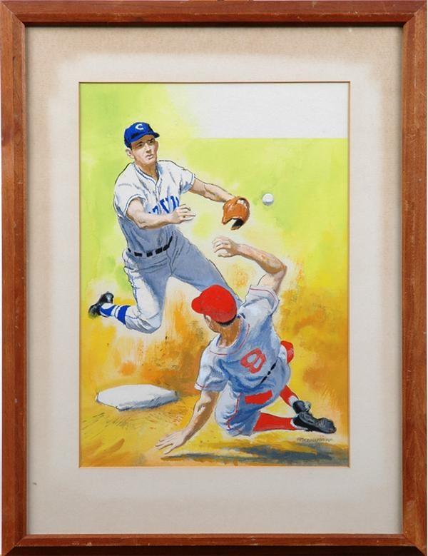 Baseball Art - June 2005