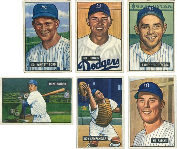 Post War Baseball Cards - June 2005