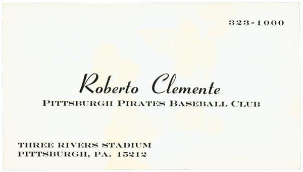 Roberto Clemente - June 2005
