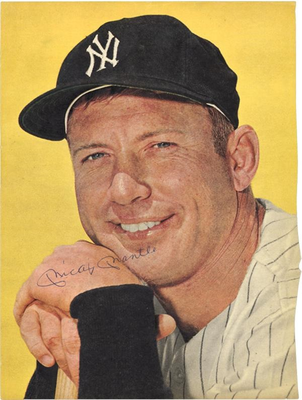 Mickey Mantle - June 2005