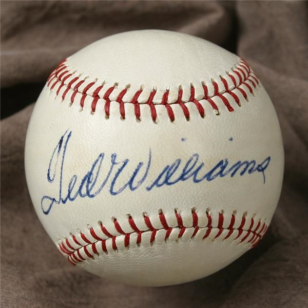 Ted Williams - June 2005