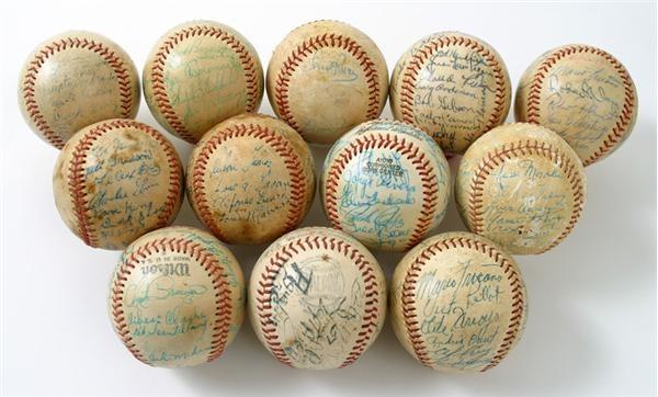 Baseball Memorabilia - June 2005