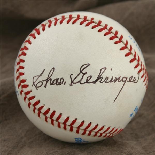 Autographed Baseballs - June 2005