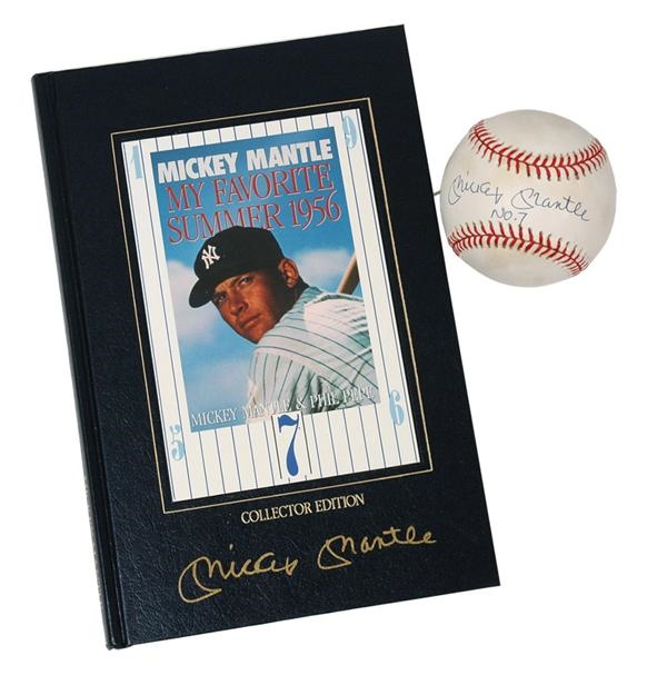 4febcae558a Lelands.com - Mickey Mantle - Past Sports and Collectible Auctions