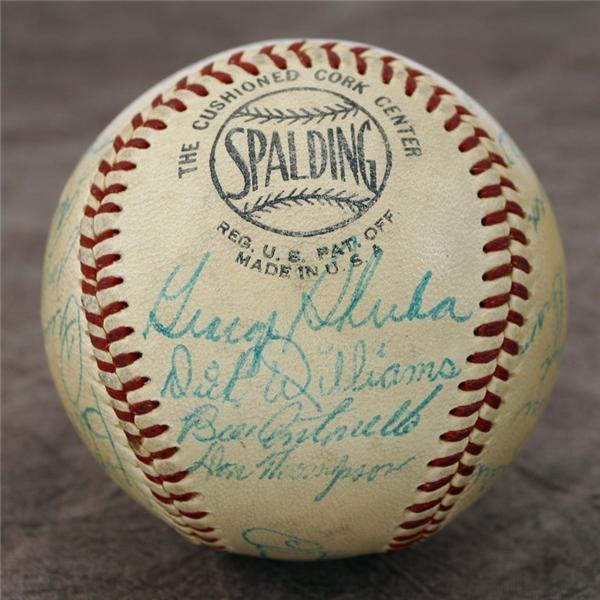 Jackie Robinson & Brooklyn Dodgers - auction