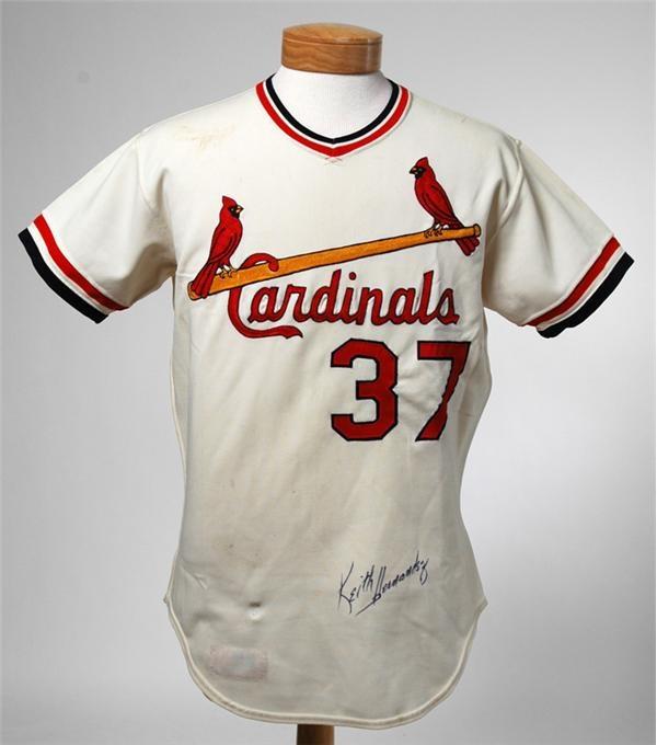 promo code 96d46 12803 Keith Hernandez St. Louis Cardinals Rookie Jersey