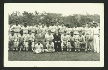 Cuban Sports Memorabilia - April 2001