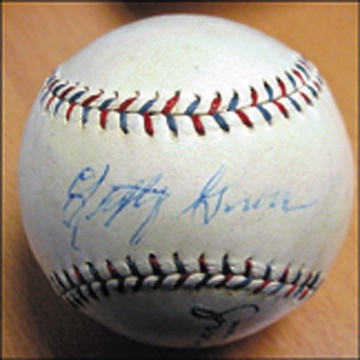 Beatles Baseball - auction