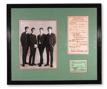 The Beatles - April 2001